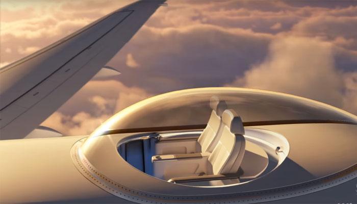 स्काईडैक: हवाई यात्री अब विमान के ऊपर बैठकर लेंगे आसमान का नजारा