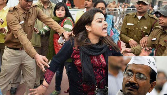 केजरीवाल पर स्याही फेंकने वाली महिला का आरोप, ऑड-ईवन योजना की आड़ में कई करोड़ का सीएनजी घोटाला