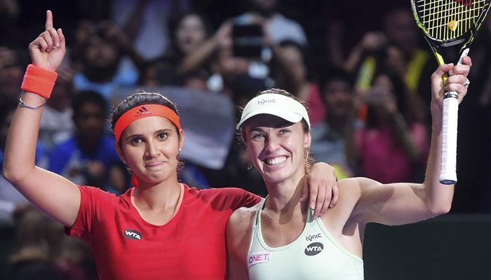 ऑस्ट्रेलियन ओपन: सानिया-मार्टिना फाइनल में, बोपन्ना-चान की जोड़ी को मिली शिकस्त