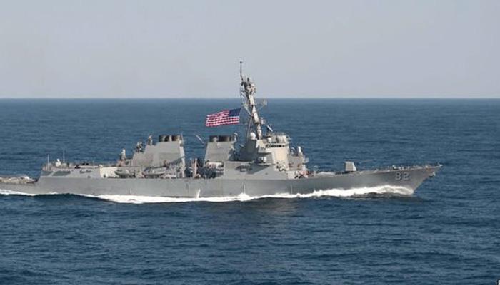 चीन के दावे को अमेरिकी चुनौती, दक्षिण चीन सागर में की गश्त