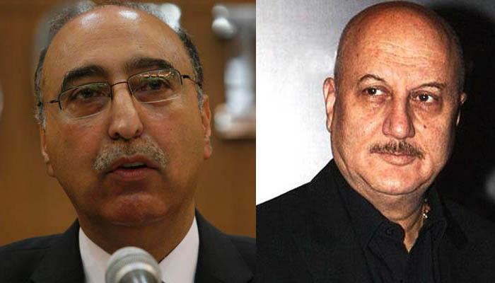 पाकिस्तान वीजा देने के लिए हुआ तैयार, लेकिन अनुपम खेर ने पाक दूत अब्दुल बासित के ऑफर को ठुकराया