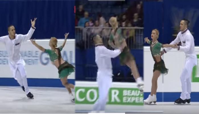 ओलिंपिक चैंपियन की जोड़ी ने Bollywood गाने पर की जबरदस्त स्केटिंग