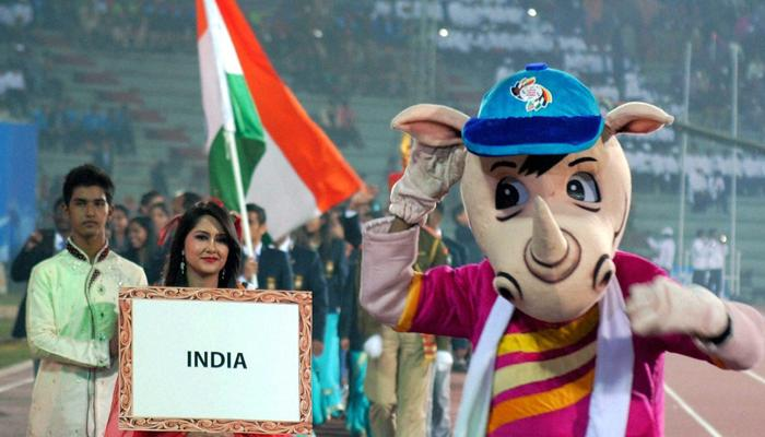 साउथ एशियन गेम्स: पहले दिन पदक तालिका में भारत No.1