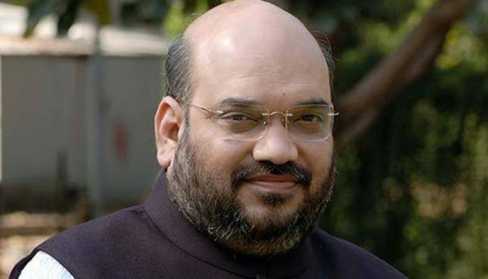 यूपी के भाजपा नेताओं से मिले शाह, विस चुनाव पर की बात