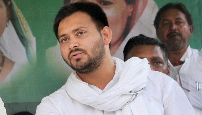 लालू के पुत्र तेजस्वी ने नीतीश को अपना 'राजनीतिक गुरु' बताया