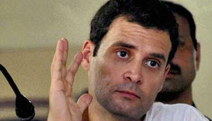 बुलेट ट्रेन मुद्दे पर राहुल ने मोदी सरकार की आलोचना की