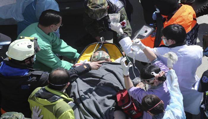 ताइवान में भूकंप के मलबे से 115 शव निकाले गए, दो लापता
