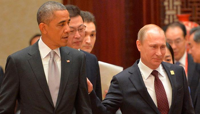 ओबामा औऱ पुतिन ने सीरिया संकट पर फोन पर की बातचीत