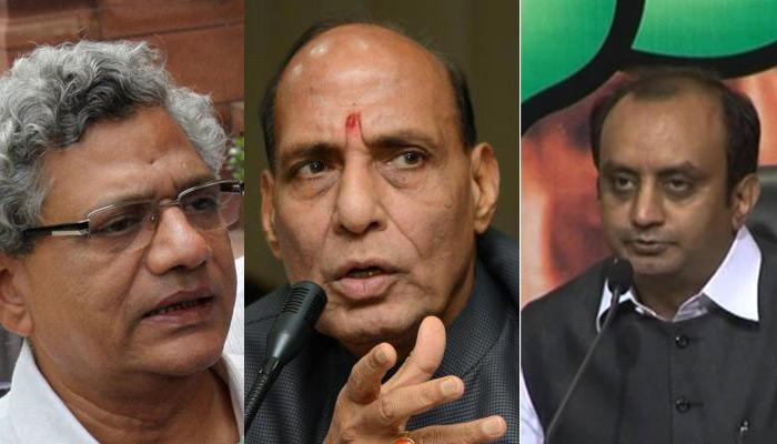 JNU घटना पर राजनाथ के बयान से सियासी बवाल, विपक्ष ने कहा- 'गंभीर आरोप', BJP ने किया बचाव