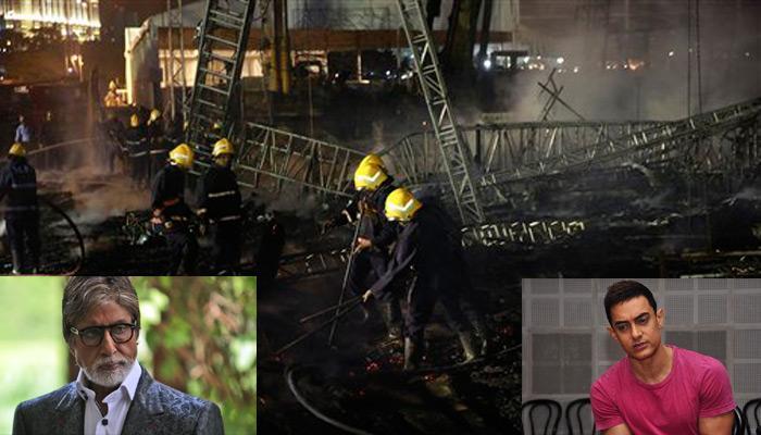 मेक इन इंडिया इवेंट में आग: चंद मिनट पहले अमिताभ ने छोड़ा था मंच, आमिर बोले- 'मेरे सामने सब कुछ जल गया'