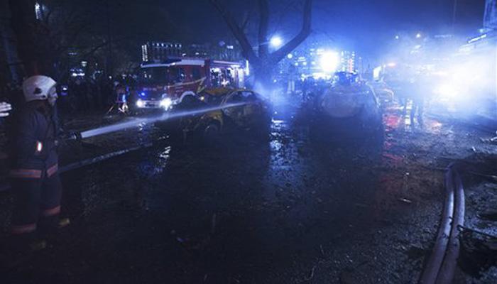 तुर्की की राजधानी अंकारा में कार बम विस्फोट में 27 की मौत, 75 घायल