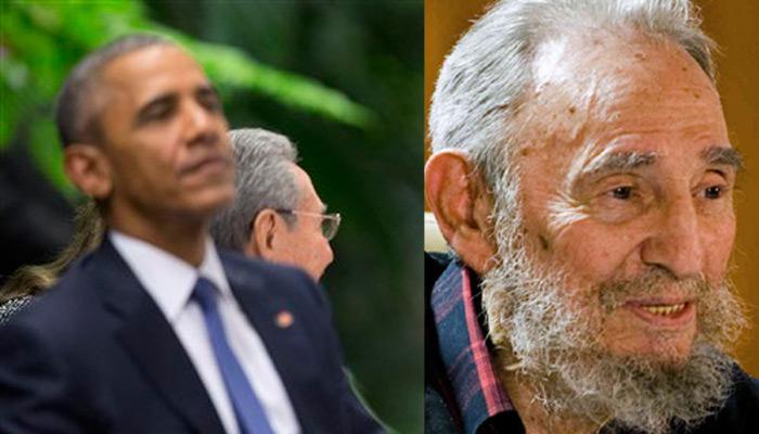फिदेल कास्त्रो के साथ मुलाकात की संभावना पर व्हाइट हाउस ने फेरा पानी