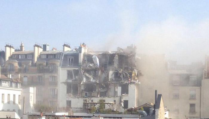 सेंट्रल पेरिस में स्टॉक एक्सचेंज के पास विस्फोट, पांच लोग घायल