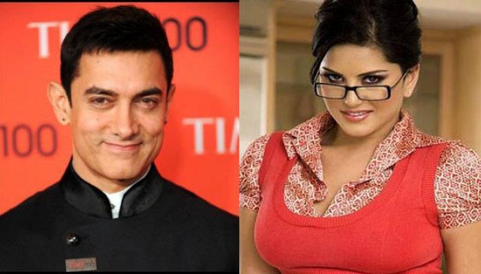 सनी लियोनी के साथ फिल्म साइन करने पर बोले आमिर खान