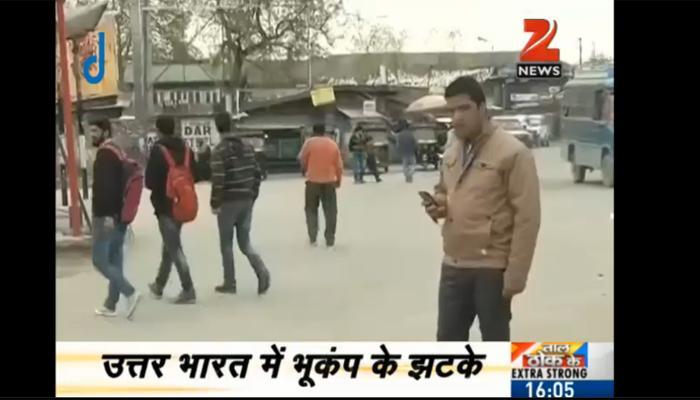 दिल्ली-NCR समेत उत्तर भारत में भूकंप के तेज झटके, तीव्रता 6.8 मापी गई