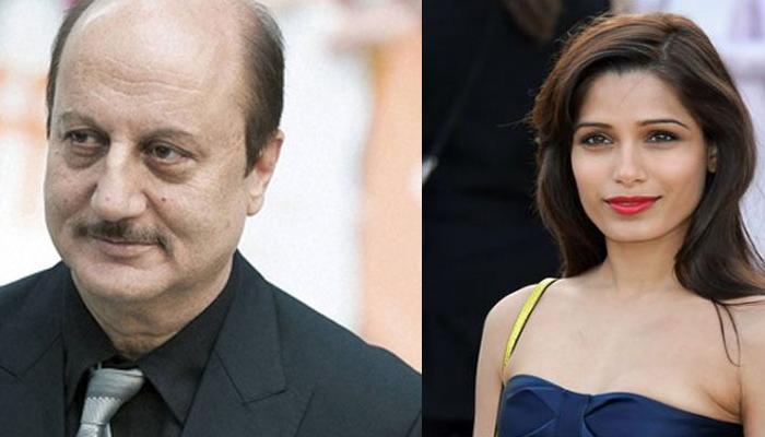 यौन व्यापार पर बनने वाली फिल्म में अभिनय करेंगे अनुपम खेर और फ्रीडा पिंटो