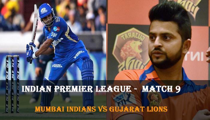 आईपीएल 9: रोमांचक मैच में फिंच का जलवा, गुजरात लायंस ने मुंबई इंडियंस को 3 विकेट से हराया