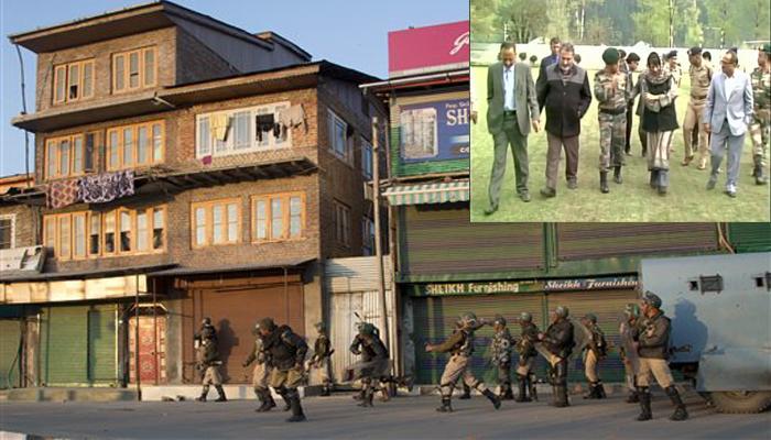 कश्मीर में ताजी झड़पों में 2 लोग घायल, मृतकों के परिजनों से मिलीं महबूबा