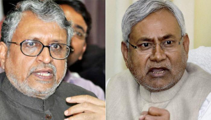 हिम्मत है तो नीतीश बिहार में संघ पर प्रतिबंध लगाकर दिखाएं : सुशील मोदी
