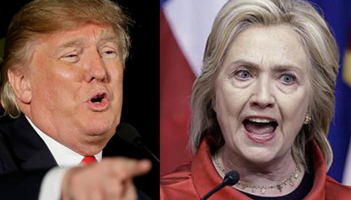 न्यूयार्क के अहम प्राइमरी चुनाव में ट्रंप और हिलेरी की जीत