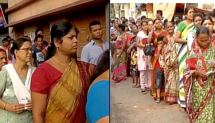 पश्चिम बंगाल चुनाव LIVE: चौथे चरण के लिए 49 सीटों पर वोटिंग जारी, मतदान केंद्रों पर लोगों का तांता