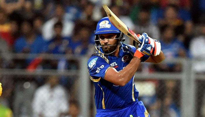 आईपीएल-9 : फिर चमका रोहित का बल्ला, मुंबई की पुणे पर आसान जीत