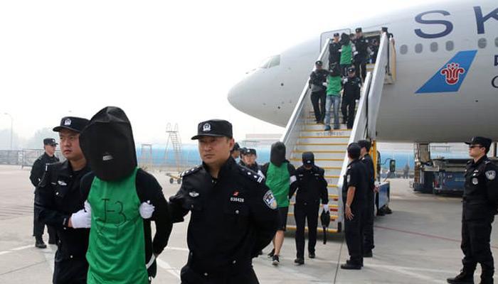 ताइवानी टेलीकॉम धोखाधड़ी के संदिग्धों के प्रत्यर्पण को चीन ने ठहराया उचित