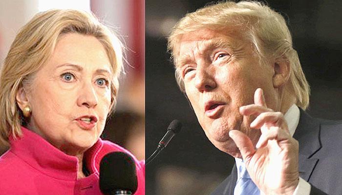US राष्ट्रपति चुनाव : 'डोनाल्ड ट्रंप और पूर्व विदेश मंत्री हिलेरी क्लिंटन के बीच सिमटा मुकाबला'