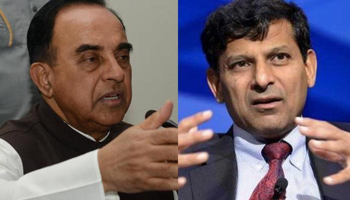 देश के लिए अनुकूल नहीं है RBI गवर्नर रघुराम राजन, जल्द शिकागो भेज दिया जाए: सुब्रमण्यम स्वामी