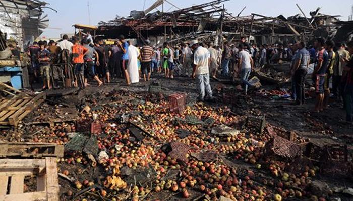 बगदाद में बम विस्फोटों में 54 लोगों की मौत, ISIS ने ली जिम्मेदारी :अधिकारी