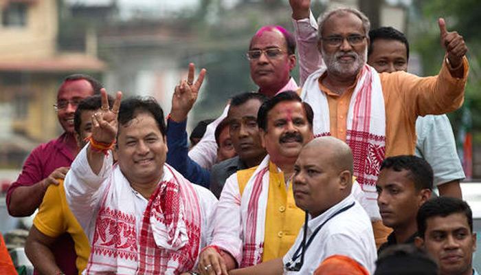 असम में BJP ने रचा इतिहास, सर्वानंद सोनोवाल 24 मई को ले सकते हैं CM पद की शपथ