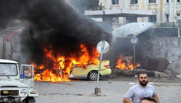 'सीरिया में IS की बमबारी में मृतकों की संख्या 154 पहुंची'