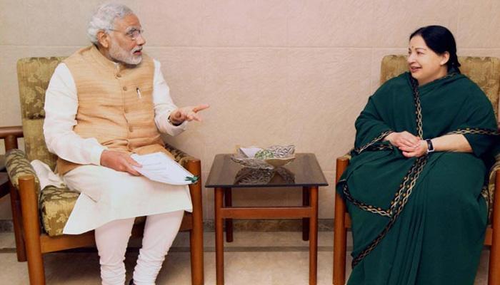 जयललिता ने PM मोदी से कहा- 'कॉमन एडमिशन टेस्ट NEET के लिए भविष्य में तमिलनाडु को मजबूर नहीं किया जाए'