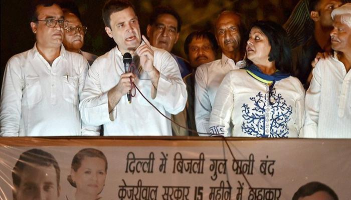 देश में सूखा पड़ा है और सरकार नाच-गाने में मशगूल : राहुल गांधी