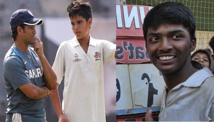 सचिन का बेटा अर्जुन अंडर-16 में, 1009 रन की रिकॉर्ड पारी खेलने वाले प्रणव धनावड़े को टीम में नहीं मिली जगह, सोशल मीडिया पर बवाल