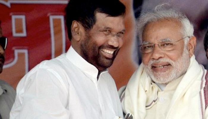 नरेंद्र मोदी अगले 15 साल के लिए प्रधानमंत्री बने रहेंगे: राम विलास पासवान