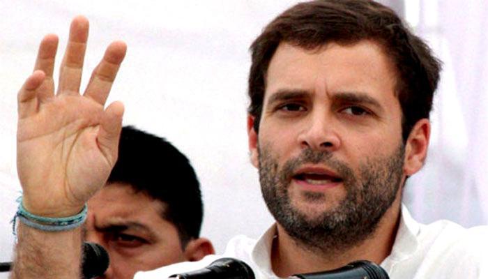 राहुल गांधी ने निवेशकों के साथ की चर्चा