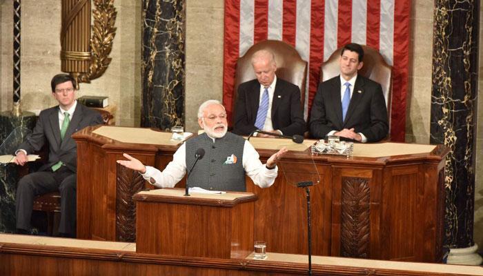अमेरिकी संसद में PM मोदी ने दिया भाषण; कहा- 'मजबूत भारत' रणनीतिक लिहाज से अमेरिका की जरूरत है
