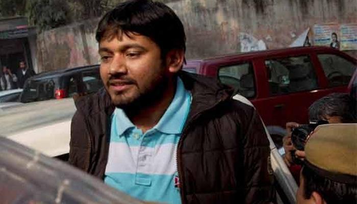 जेएनयू छात्र संघ के अध्यक्ष कन्हैया कुमार को हिरासत में लिया गया