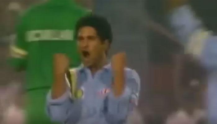 आज भी याद किया जाता है सचिन का यह शानदार ओवर...देखें वीडियो