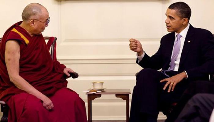 चीन के विरोध को नजरअंदाज करते हुए आज दलाई लामा से मिलेंगे बराक ओबामा