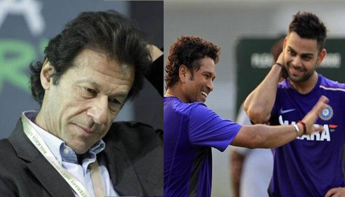 मुश्किल हालात में सचिन से बेहतर खिलाड़ी हैं विराट: इमरान खान
