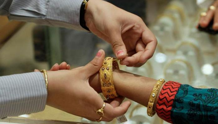 सोने की कीमत में भारी उछाल, 580 रुपये प्रति 10 ग्राम बढ़े