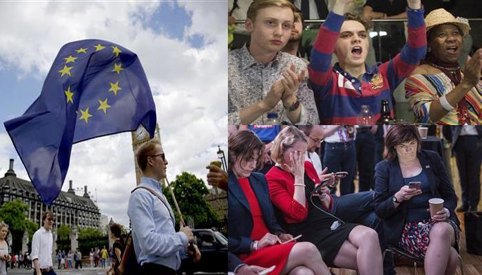 जनमत संग्रह में यूरोपीय संघ से अलग हुआ ब्रिटेन, डेविड कैमरन ने की इस्तीफे की घोषणा