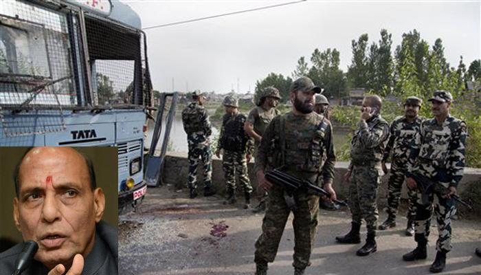 पम्पोर हमला: राजनाथ बोले-पाकिस्तान यदि पहले गोलीबारी करता है तो हम अपनी गोलियां नहीं गिनेंगे