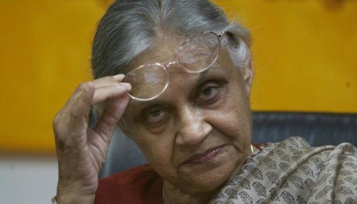 यूपी चुनाव में कांग्रेस पार्टी का चेहरा बनने से शीला दीक्षित ने किया इनकार!