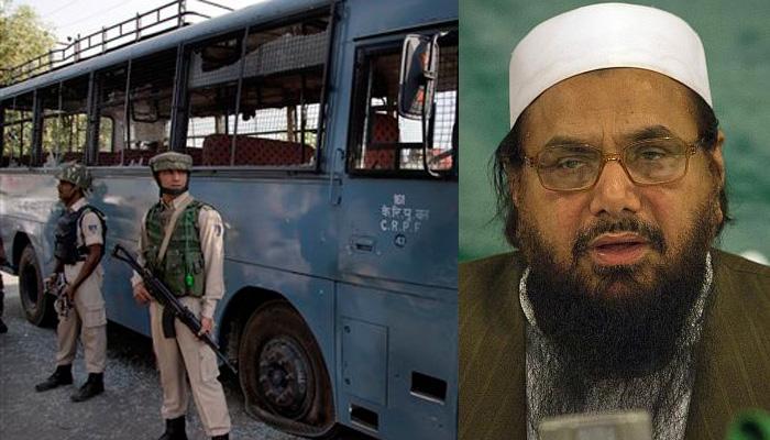 पंपोर में CRPF काफिले पर हमले के पीछे हाफिज सईद के दामाद का हाथ: रिपोर्ट