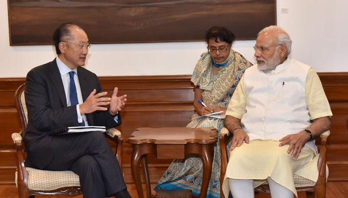 PM मोदी से मिले वर्ल्ड बैंक के प्रमुख, हरित उर्जा पर हुई चर्चा