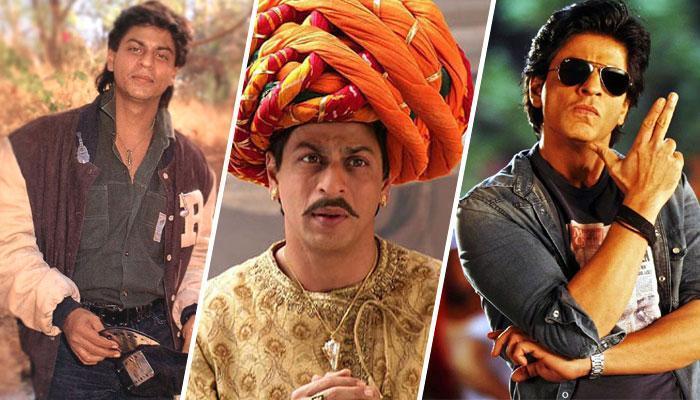 बॉलीवुड में शाहरुख खान के विभिन्न अवतार!