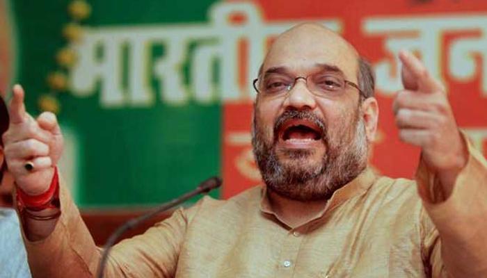 सपा की सरकार को हटाने का दम केवल भाजपा में: अमित शाह